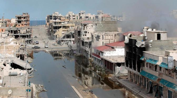 PSYWAR: The Fake Fall Of Tripoli And The Zionist Dragon's Butchery Across Palestine II