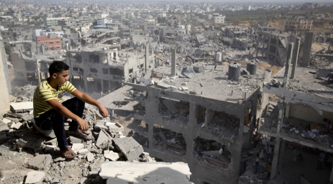 PALESTINIAN -ISRAEL-CONFLICT-GAZA