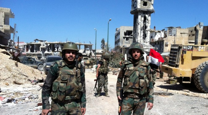 Battle for Dara'a Heats Up: Syrian Arab Army Reinforcements Pouring into the Province