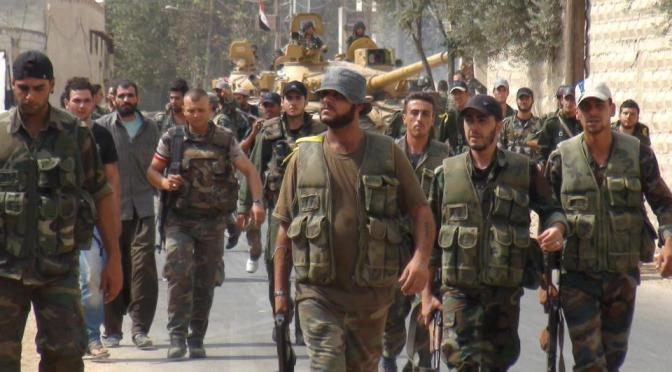 Syrian Arab Army Kills Scores of Terrorists in Qalamoun, Aleppo