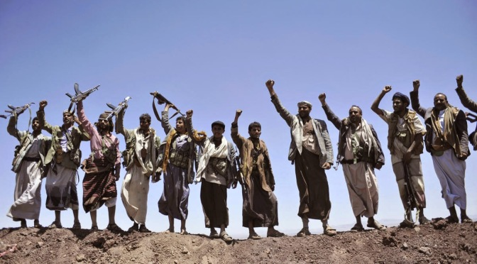 Yemen's Ansarullah fighters enter suburb of Taiz as they march towards Aden
