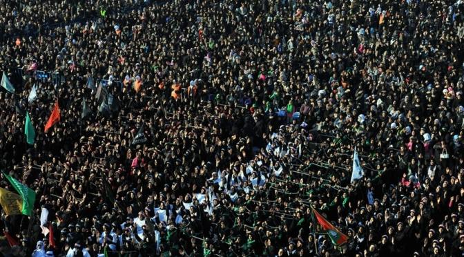Iranians Commemorate Imam Hussein's Martyrdom Anniversary