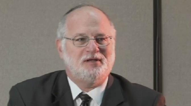 Demented, Supremacist NJ rabbi: 1948 Palestinians 'must be vanquished'