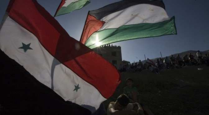 "Meet The Pro-Syria Palestinians That Electronic ""Intifada"" Will Never Tell You About"