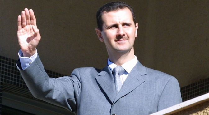 "Fourth Piece Of ""Eternally Husseini"" Promo Artwork Is Out: Syrian President Dr. Bashar al-Assad"