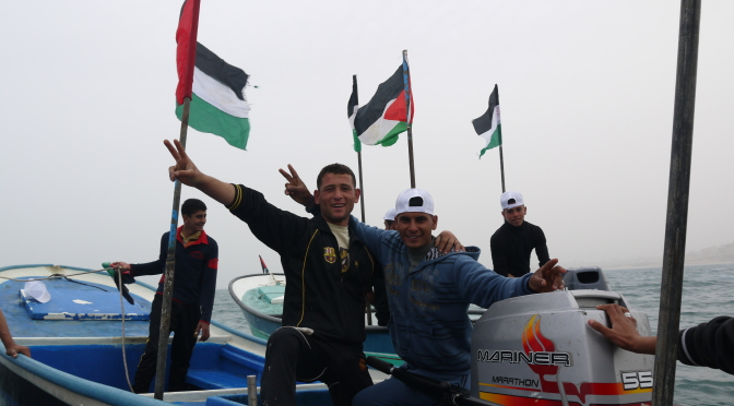 Israeli navy sinks Palestinian fishing boat off Gaza coast