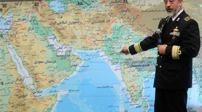 Iranian Navy Test-Fires New Home-Made Torpedo