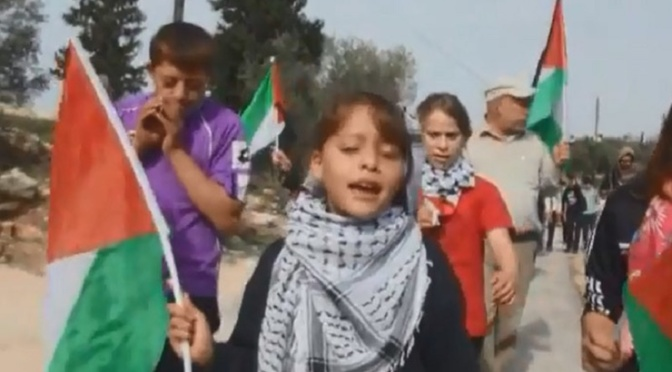8-year-old Palestinian girl is West Bank's youngest citizen journalist