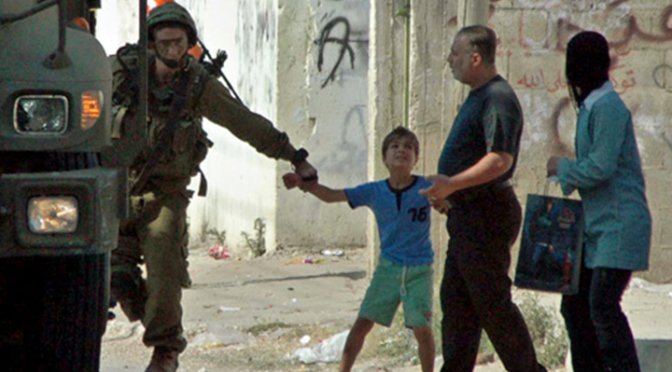 Sexual Abuse Against Palestinian Child Detainees Reported