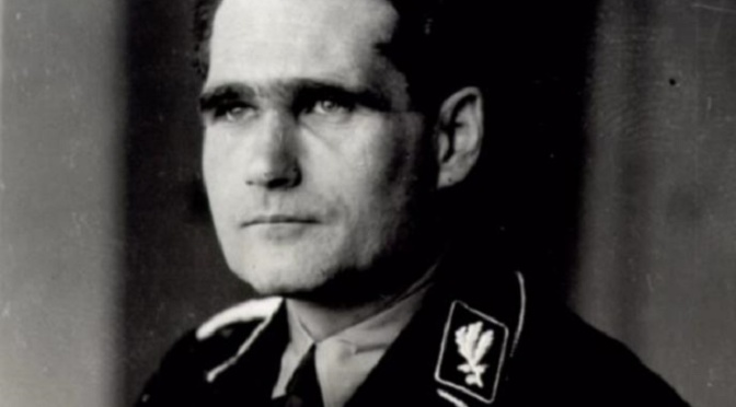 Hitler's deputy Rudolf Hess 'murdered by British agents' to stop him spilling wartime secrets