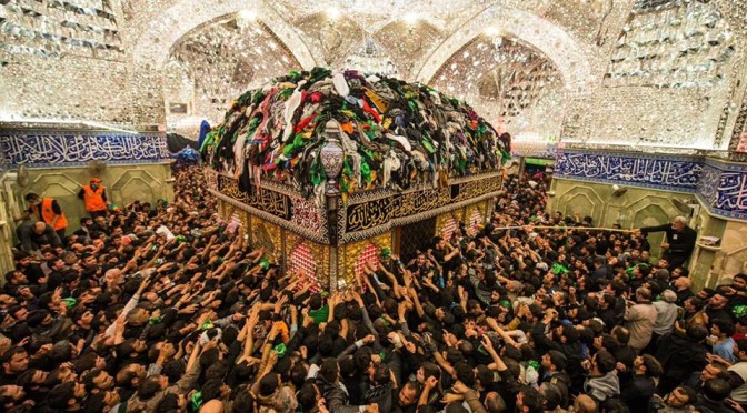 Thousands Mark Arbaeen at Sayyeda Zaynab Shrine in Damascus Countryside