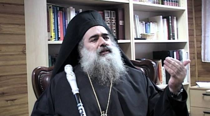 Archbishop Atallah Hanna: We Palestinian Christians say Allahu Akbar