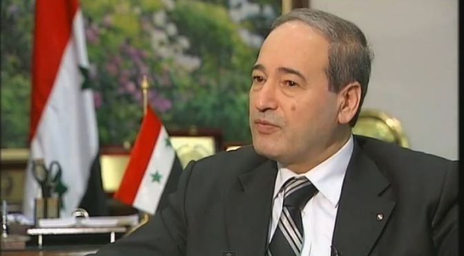 Syrian Deputy FM Mikdad: Turkey coordinates with Muslim Brotherhood and Israel