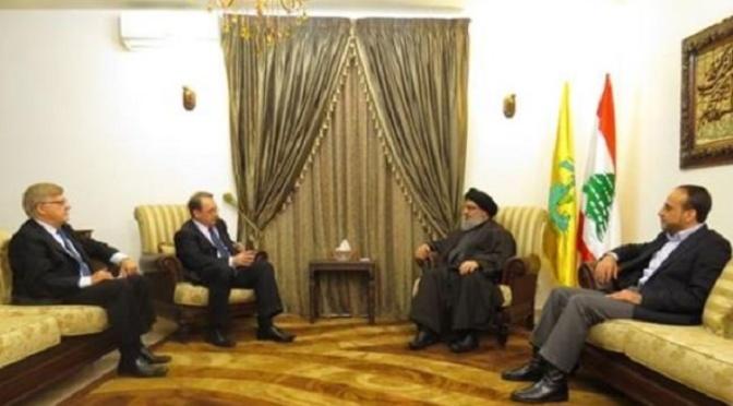 Russia Deputy FM Visits Sayyed Hassan Nasrallah Before Departing Lebanon