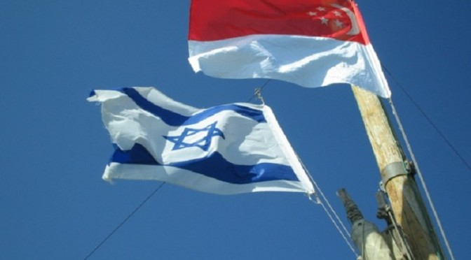 The Illegitimate Zionist Entity and Singapore: A deep, dark, secret love affair
