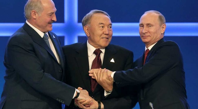 "Russia's ""Startling"" Proposal To Europe: Dump The US, Join The Eurasian Economic Union"
