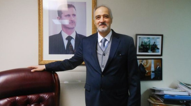 Syrian Ambassador to the UN Bashar al-Ja'afari on Sovereignty, Terrorism and the Failure of the UN