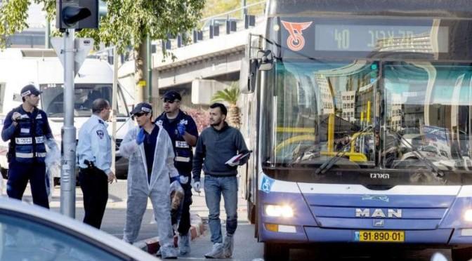"12 Israelis Wounded in Stabbing Attack in ""Tel Aviv"""