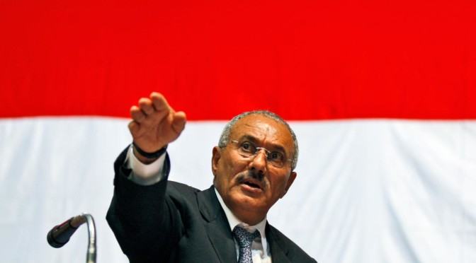 Let The Hasbara Rest: Former Dictator Saleh Denies Alliance With Houthis