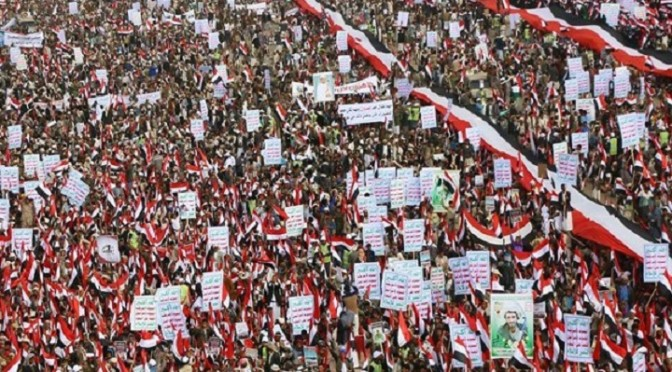 Yemeni People Were Marching A Few Million Deep Over The Weekend