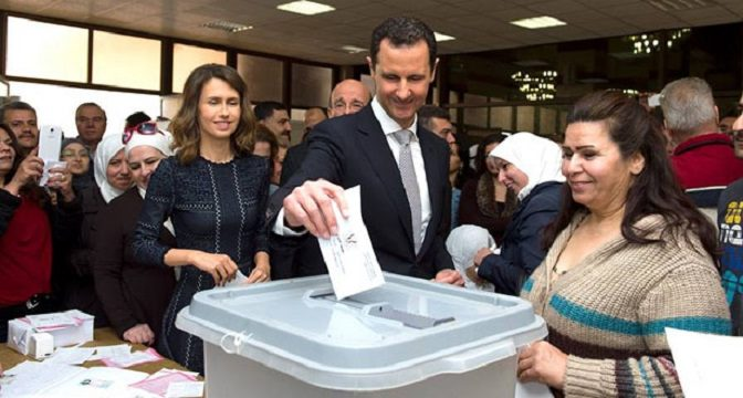Today's Parliamentary Elections In Syria Must KILL The US-'Israeli' Empire