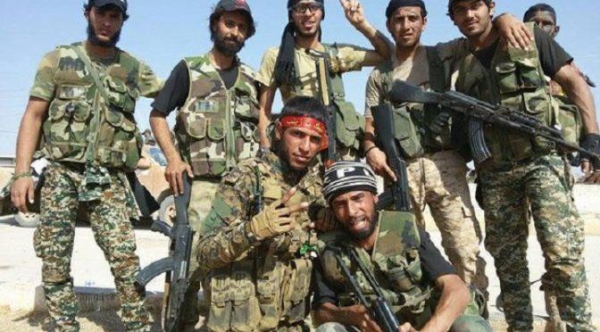 Iraq's Harakat al-Nujaba Defends Both Bilad al-Rafidayn AND Bilad al-Sham