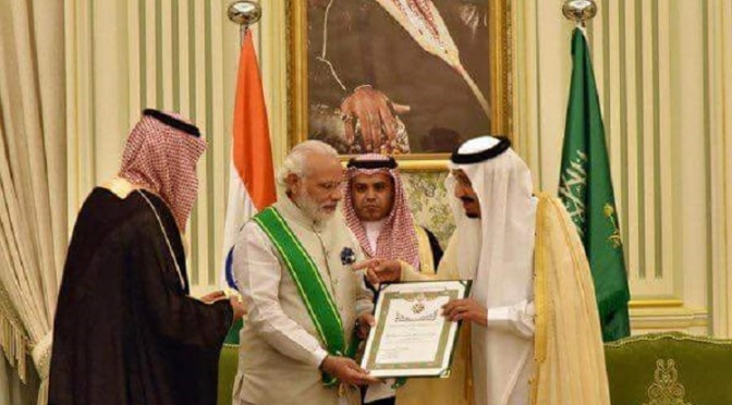 Of Course Al-Saud Would Increase Ties With Hindutvadi India!