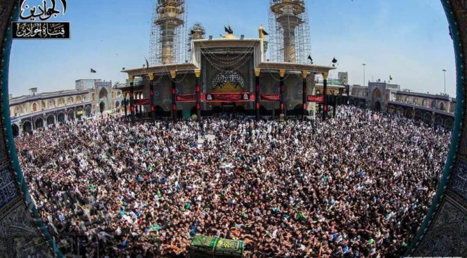 No Fear Of ISIS! Millions March To Mark Martyrdom Of Imam Kazim (A.S.)