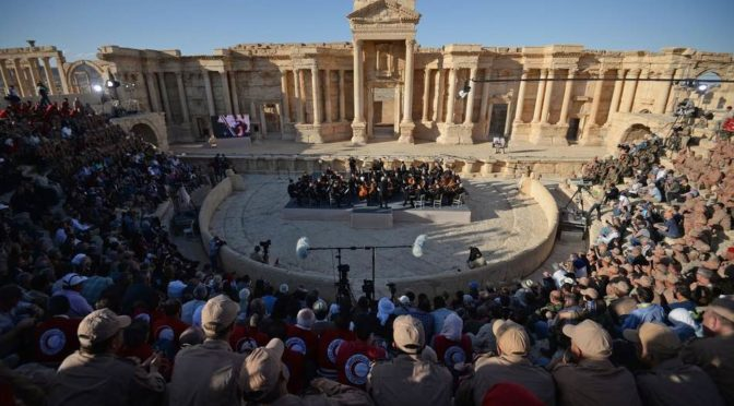 "The ""Prayers For Palmyra, Music Revives Ancient Ruins"" Concert Was True Mouqawamah Music"