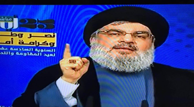 Nasrallah's Words On Resistance and Liberation Day Are Like Water To The Thirsty
