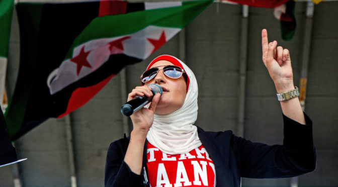 "House Muslim Linda Sarsour Tows Her Zionist Masters' Line And Says Trump Is Committing ""Treason"""