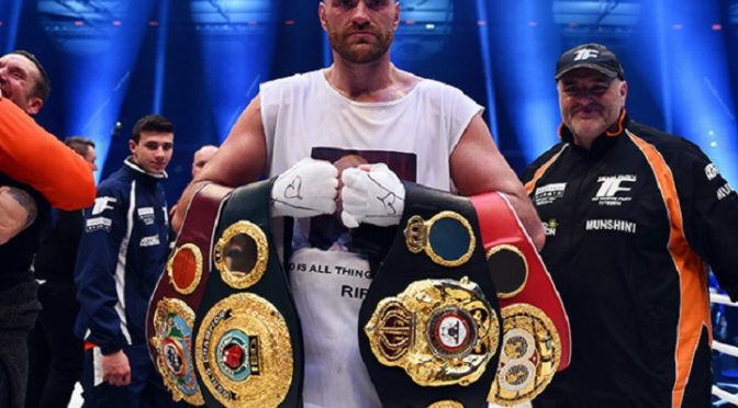 Heavyweight Champ Tyson Fury: Zionist Jews Run Media, Banks