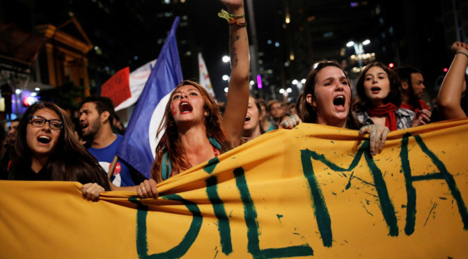The Coup Against Dilma Rousseff Is A Zionist Coup; What Else Is New?