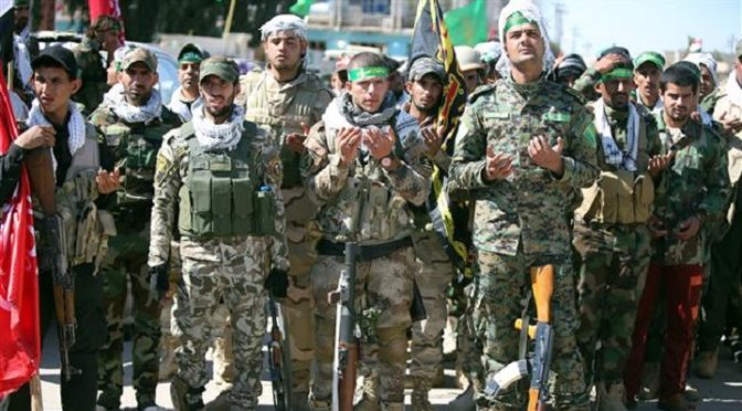 We Are One Hand! Iraqi Popular Mobilization Units Converge On Fallujah