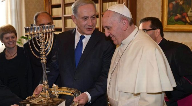 A Lesson For Pope Francis: False Flag Flop In Italy and Judaic Hatred of Christians
