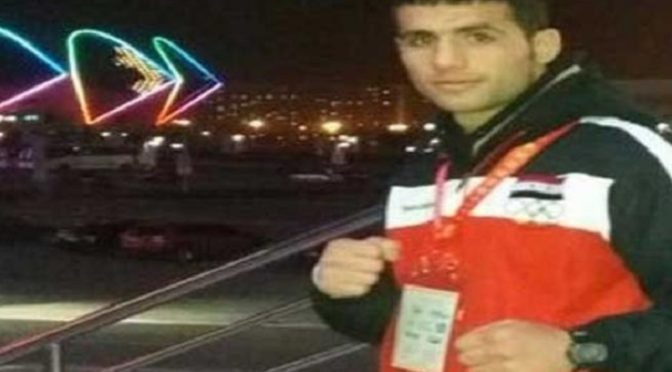 Salute To Alaeddine Ghassoun, Syrian Boxer Who Rejects Normalizing With 'Israel'