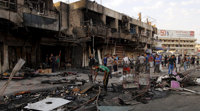 Baghdad Carnage Today: Daesh's Ramadan Massacre Of Iraqi Muslims Continues