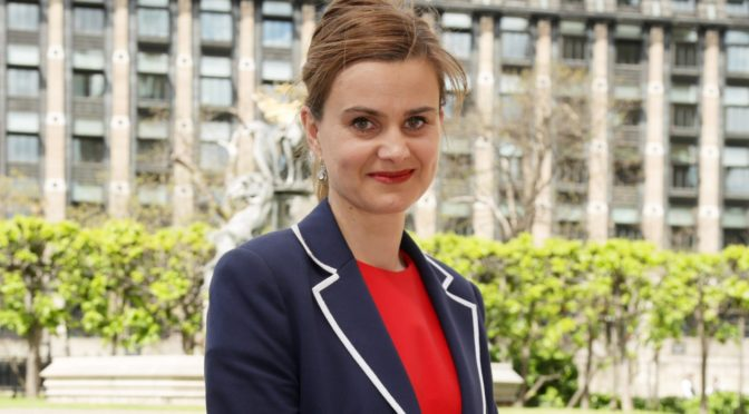 Jo Cox Ain't No Martyr; She Was A Syria-Hating Imperialist Killed In A Likely False Flag