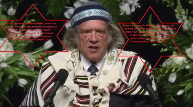 No Friend Of Muhammad Ali Or Palestine: Rabbi Lerner, Like All Zionists, Is A Stain On Humanity