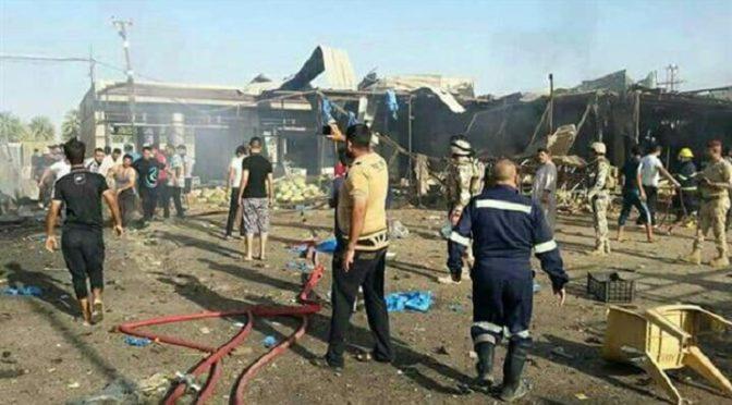 New Horror In Iraq: Mossad/P2OG Truck Bomb Kills Scores In Baghdad Veggie Market