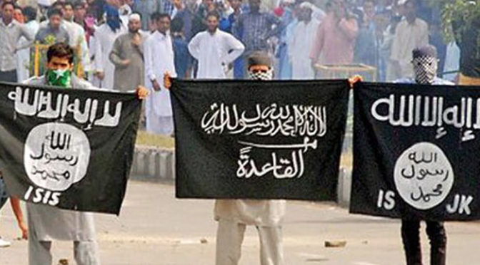 Beware: ISIS Flags In Occupied Kashmir Are Indian-'Israeli'-US PSYOP