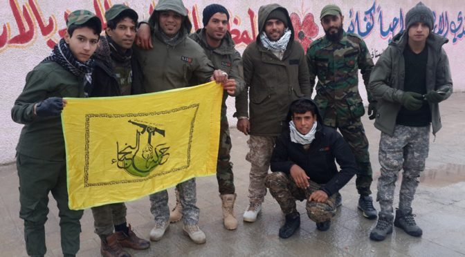 Run Takfiris! Iraq's Harakat Al-Nujaba Is Sending Over 2,000 Reinforcements To Aleppo!