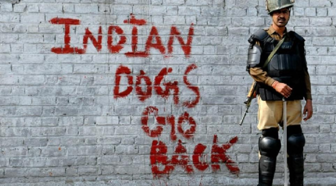 Hindutvadi India's Terrorism And Ultra-Nationalist Violence Are Forcing Kashmiris To Take Up Arms