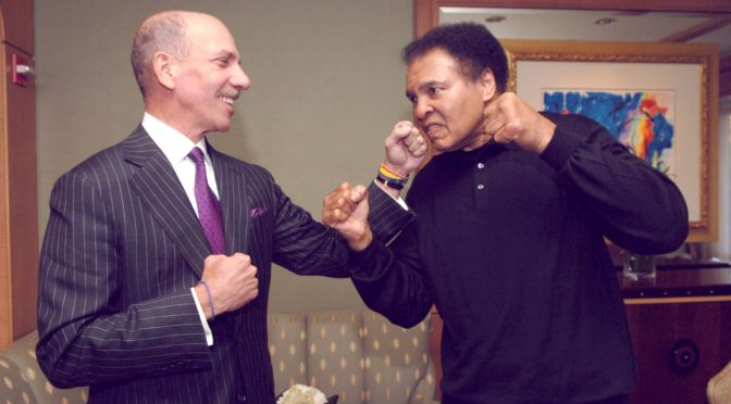 "Meet Robert F.X. Sillerman: The ""Chosenite"" Parasite Who Owns Muhammad Ali's Name"
