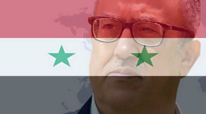RIP Nahed Hattar: Defender Of Syria, Opponent Of Takfirism And Champion Of Palestine