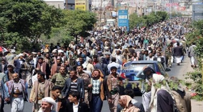 Imam Hussein's (A.S.) Spirit Lives In Yemen: Hundreds Of Thousands Slam Saudi Funeral Massacre
