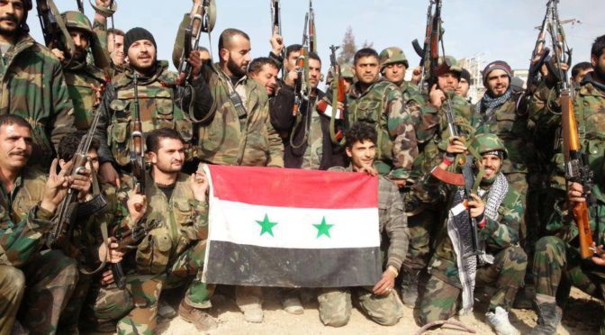 From Deir Ezzor To Aleppo To Damascus, Pluralistic Syria's Communities Fight Zio-Imperialism Together