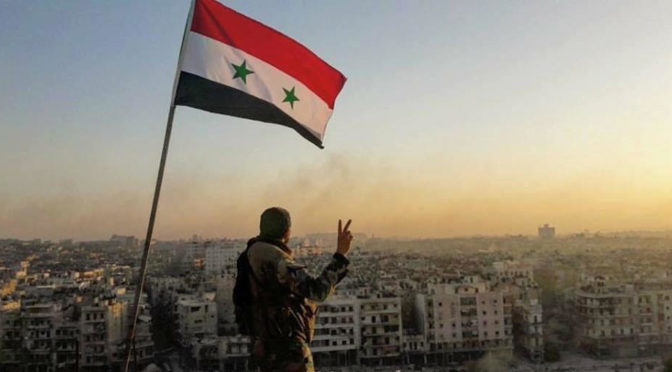 Syrian Arab Army's Lightning Advance In East Aleppo Exposes Biggest MSM Propaganda Campaign Ever