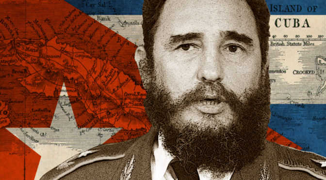 Striking Star Salute To Fidel Castro: A Skying Revolutionary Life Comes To A Close At 90