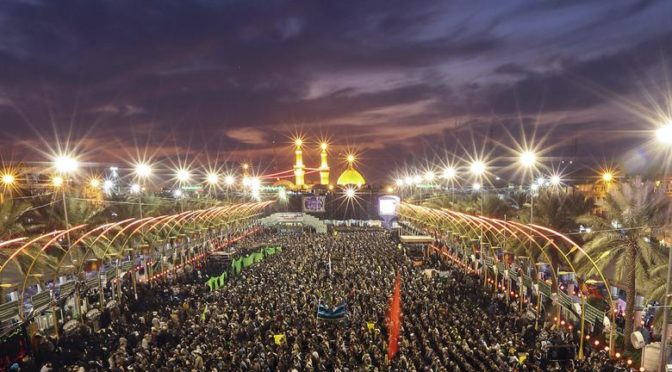 Muslim Press Interviews Jonathan Azaziah About Arbaeen, Iraq And Islamic Unity